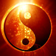 canvas print picture - Yin Yang sign
