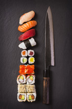 Couteau à sushi