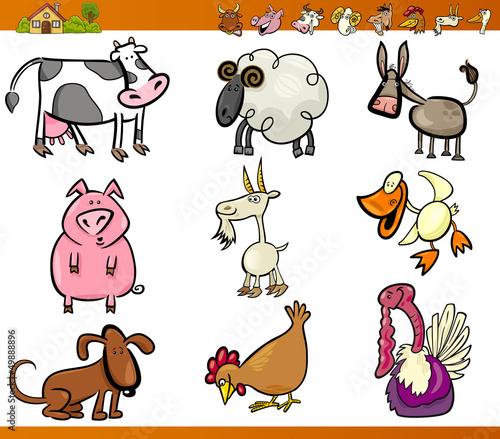剪贴画动物可爱的