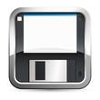 Speichern / Diskette - Button / App
