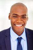 modern african businessman closeup headshot