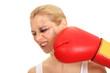beim Boxkampf