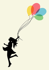 Woman happiness achievement