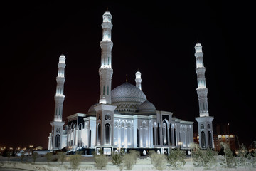 "Majestic mosque""Hazret Sultan"" in Astana"