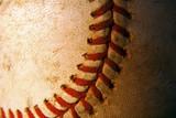 Fototapety Closeup of an old, weathered baseball