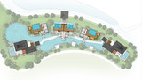 Proposal of planning spa onsen with green area