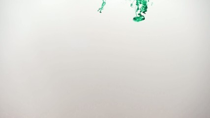 grüne Tinte