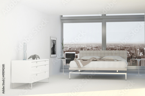 xtravagant Exclusive Design Bedroom with city view