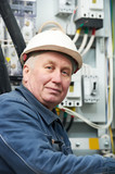 Portrait of adult Electrician
