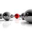 Innovation und Wettbewerbsvorsprung - 3D Illustration