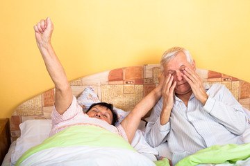 Seniors wake up