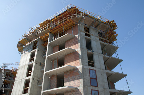 Construction of the building - building a house