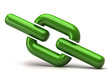 Green chain icon