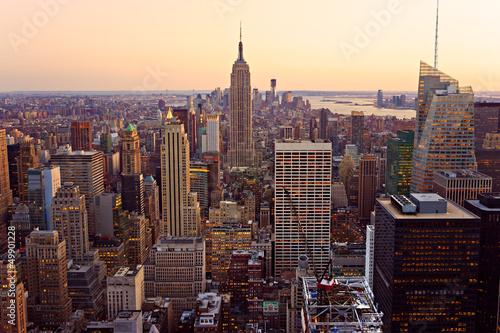 fototapeta na ścianę Manhattan, Nowy Jork. USA.