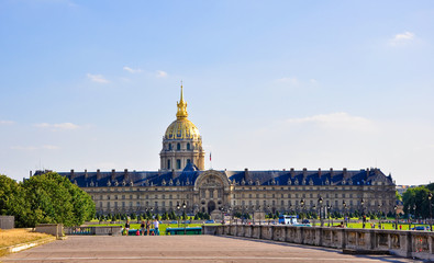 The National Residence of the Invalids. Paris.