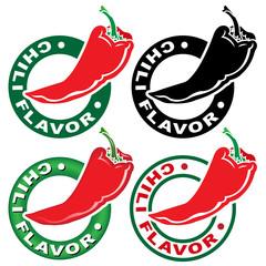 Chili Flavor Seal / Mark