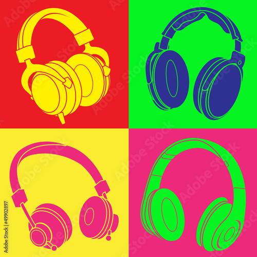 DJ Headphones POP Design