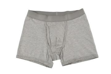 men's underwear isolated on white background