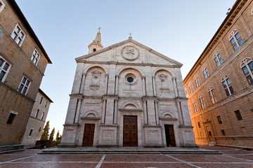Cathedral Square in Pienza