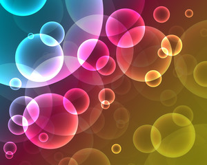 Neon abstract background_2