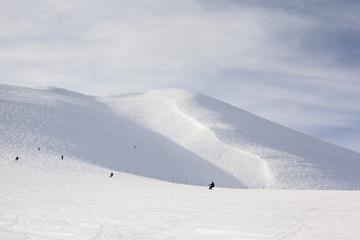 On and Off Piste Ski Slopes in Niseko, Japan