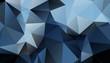 Dark Blue Geometric background vector eps 10