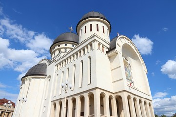 Arad, Romania - Orthodox Holy Trinity cathedral
