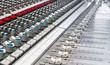 Professional mixer in recording studio