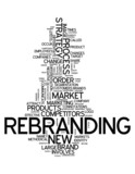 "Word Cloud ""Rebranding"""
