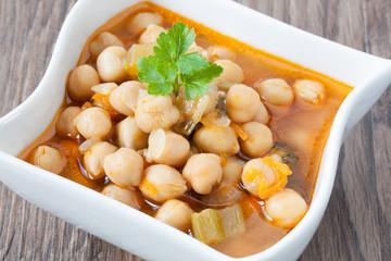 Chickpea soup_II