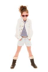 fashionable girl child