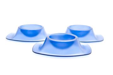 Blaue Eierbecher