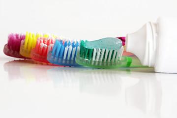 Bunte Mundhygiene