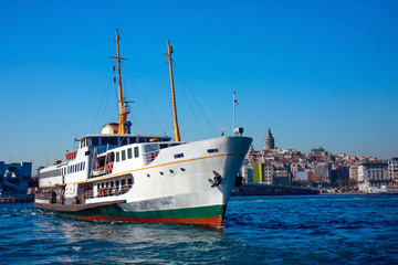 Ferries of Istanbul,Turkey