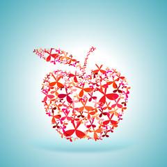 cloverleaf red apple