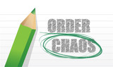 selecting between order and chaos