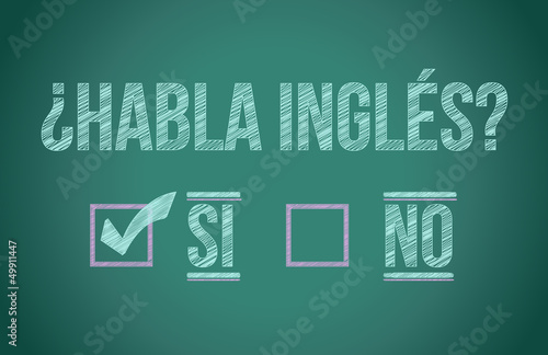 Do you speak English in spanish