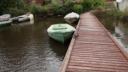 boat at berth