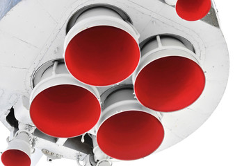 Nozzles space rocket