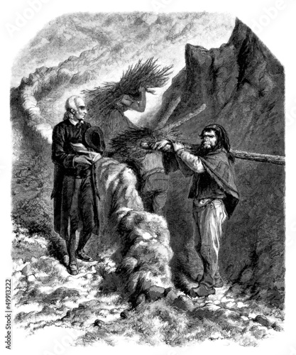 Pastor & Peasant - 19th century