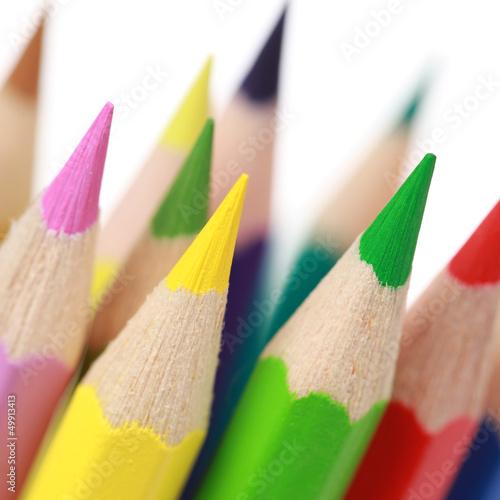 Kollektion von Buntstiften