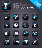 Black Squares - Tools and Construction icons