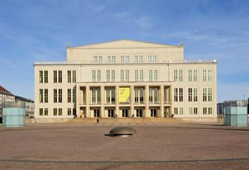 Leipzig Augustusplatz - Opernhaus