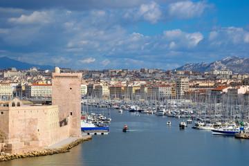 Carte Postale - Marseille - Le Vieux Port
