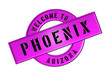 WELCOME TO PHOENIX