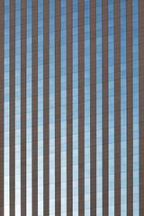 Glass Skyscraper Building Facade as Background