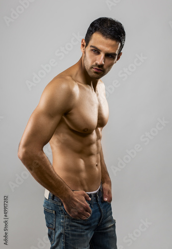 Handsome Male Model Portrait