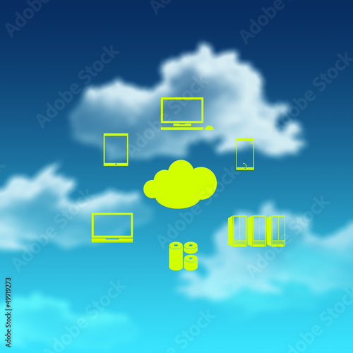 a Cloud Computing diagram