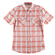 Red and white shirt isolated