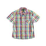 Varicolored shirt isolated
